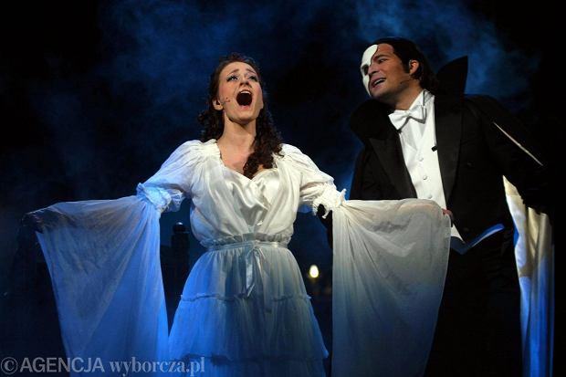 Paulina Janczak i Damian Aleksander wystąpili w musicalu 'Upiór w operze'. Przedstawienie cieszyło się w Romie tak ogromnym zainteresowaniem, że po latach powróciło na deski Opery Podlaskiej w Białymstoku