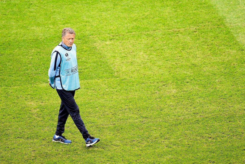 Trening Dnipro na Stadionie Narodowym