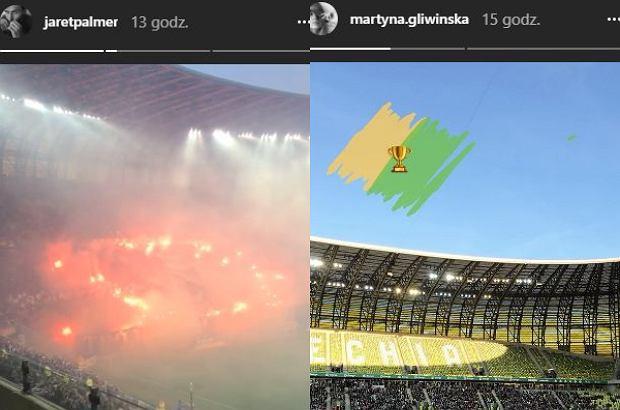 Jarosław Bieniuk, Martyna Gliwińska - screeny z Instagrama