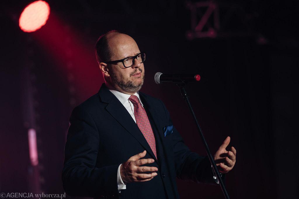 XVI Gdańska Gala Sportu 2018. Prezydent Gdańska Paweł Adamowicz
