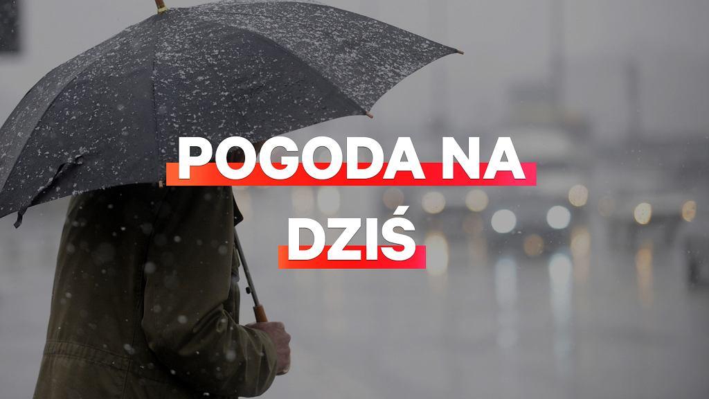 Prognoza pogody na dziś - piątek 20 grudnia. IMGW prognozuje deszcz