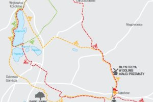 Trasy rowerowe dla rodzin, amatorów i zawodowców: Dąbrowa Górnicza, Błędów, Siewierz