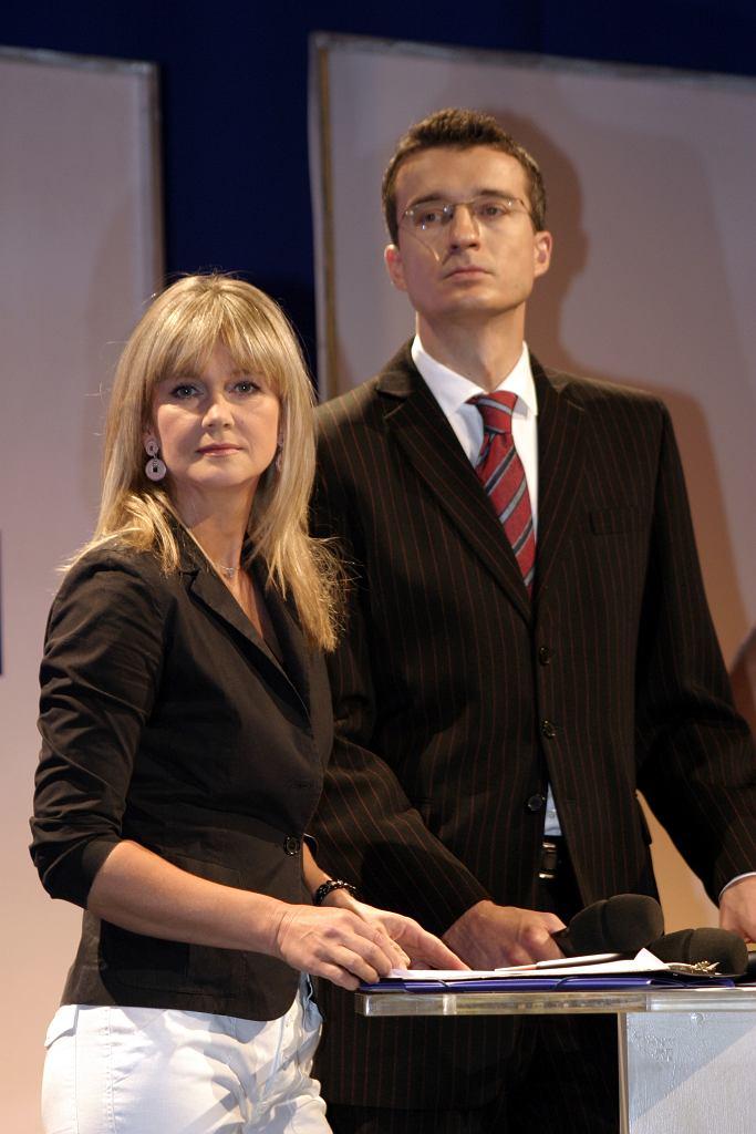 Grażyna Torbicka i Grzegorz Miśtal w 2005 roku