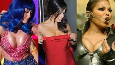 Katy Perry, Anna Mucha, Janet Jackson.