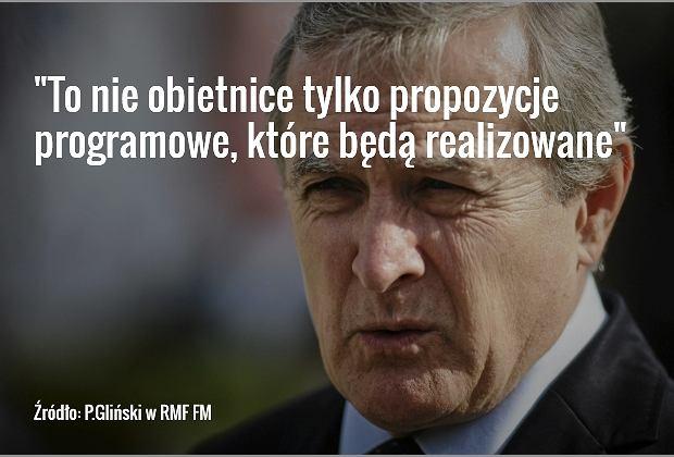 Prof. Piotr Gliński, szef rady programowej PiS
