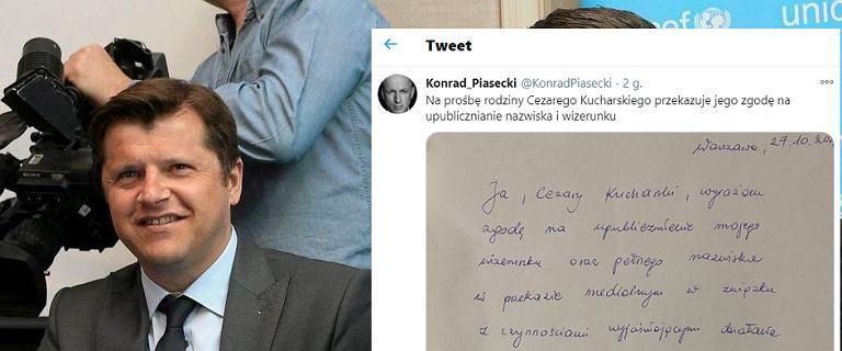 Cezary Kucharski napisał specjalne oświadczenie po zatrzymaniu. Przekazała je rodzina