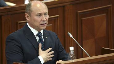 Valeriu Strelet, odwołany w czwartek premier Mołdawii
