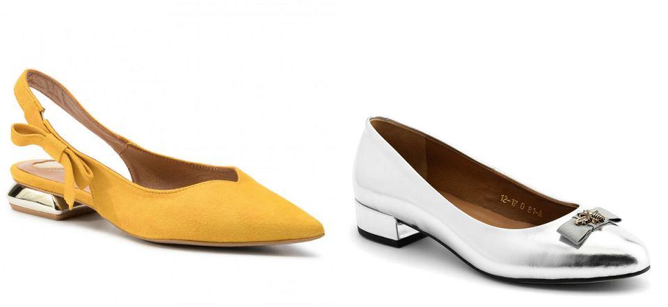 Płaskie buty na Sylwestra