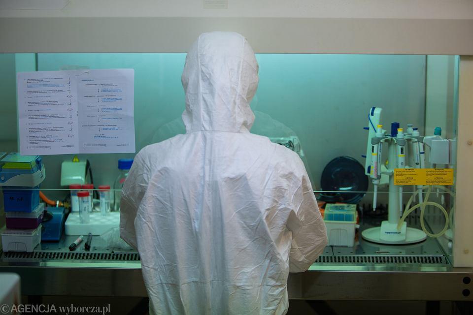 Laboratorium / zdjęcie ilustracyjne