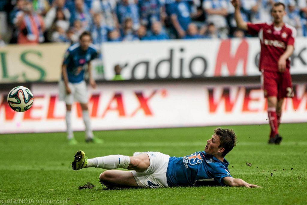Lech Poznań - Wisła Kraków 0:0. Dawid Kownacki