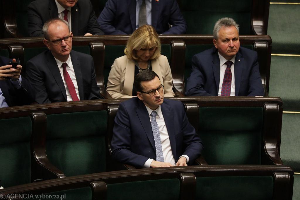 Premier Mateusz Morawiecki w Sejmie