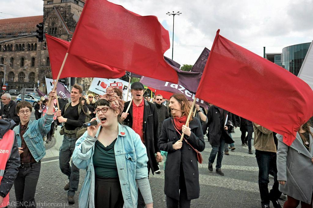 1 maja to dzień licznych demonstracji.