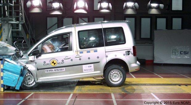Testy Euro NCAP - Volkswagen Caddy