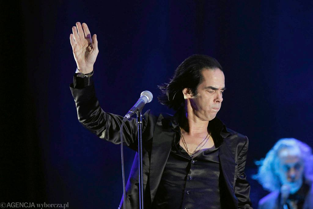 Nick Cave koncertuje na Heineken Open'er Festival / Nick Cave koncertuje na Heineken Open'er Festival/Fot. Dominik Sadowski / Agencja Gazeta
