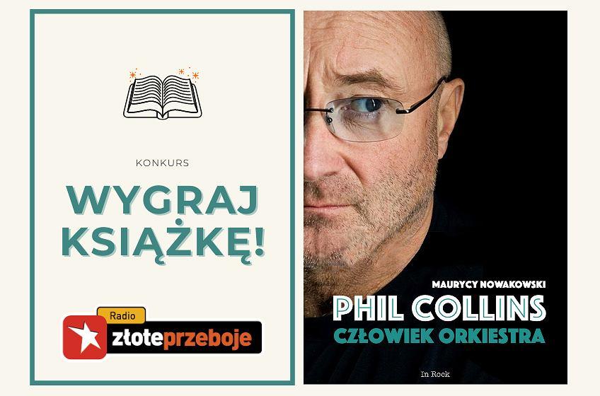 Wygraj książkę 'Phil Collins. Człowiek orkiestra'! [KONKURS]