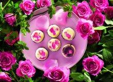Czekoladki znadzieniem różanym - ugotuj