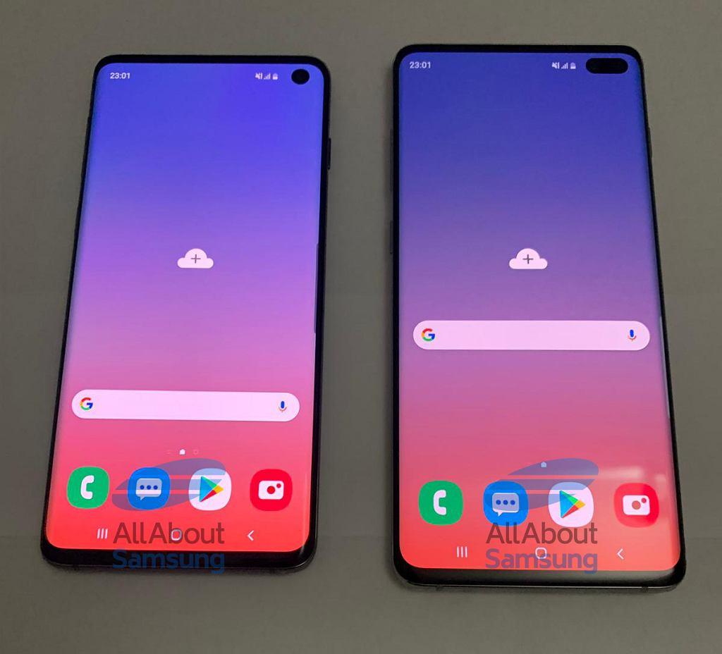 Tak ma wyglądać Galaxy S10 i Galaxy S10 Plus