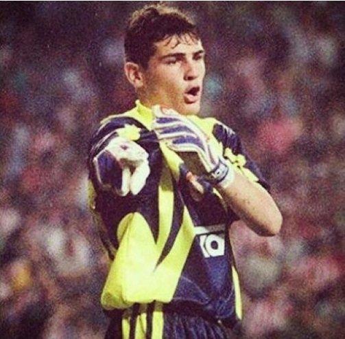 Iker Casillas w 1999 roku