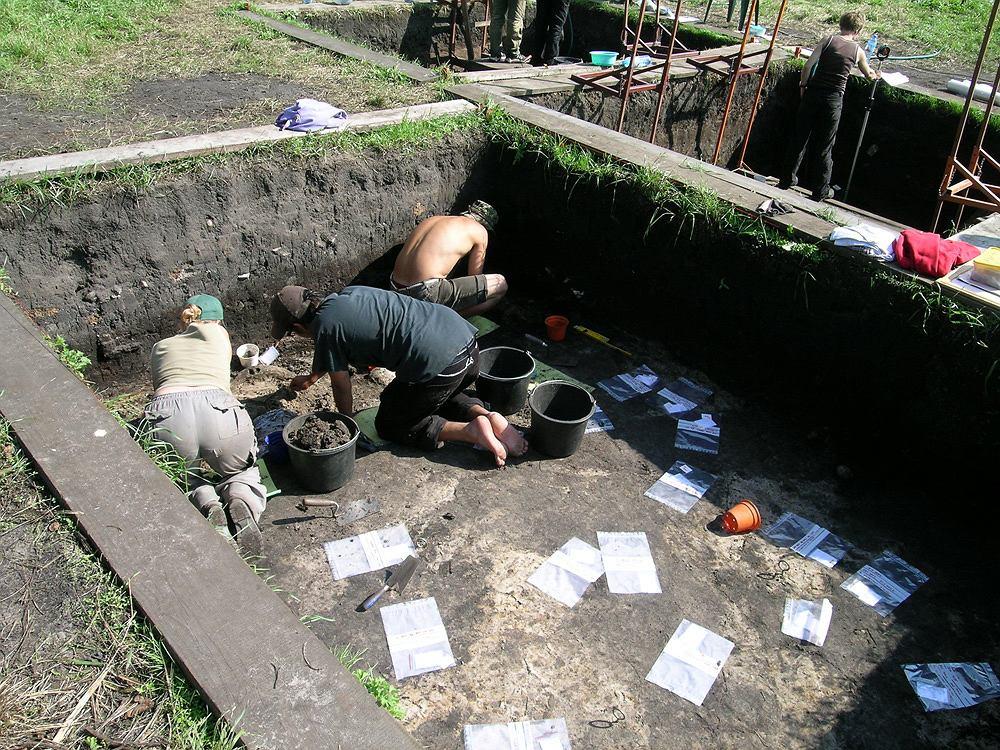 Badania archeologiczne w Bruszczewie