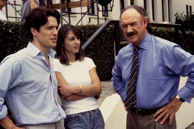Hugh Grant, Elizabeth Hurley, Gene Hackman
