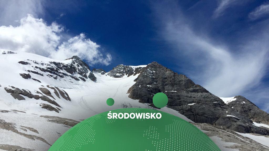 Lodowiec Marmolada, Dolomity