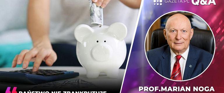 """""""Mam 10 tys. zł oszczędności. Gdzie chronić pieniądze?"""". Odpowiada prof. Noga"""