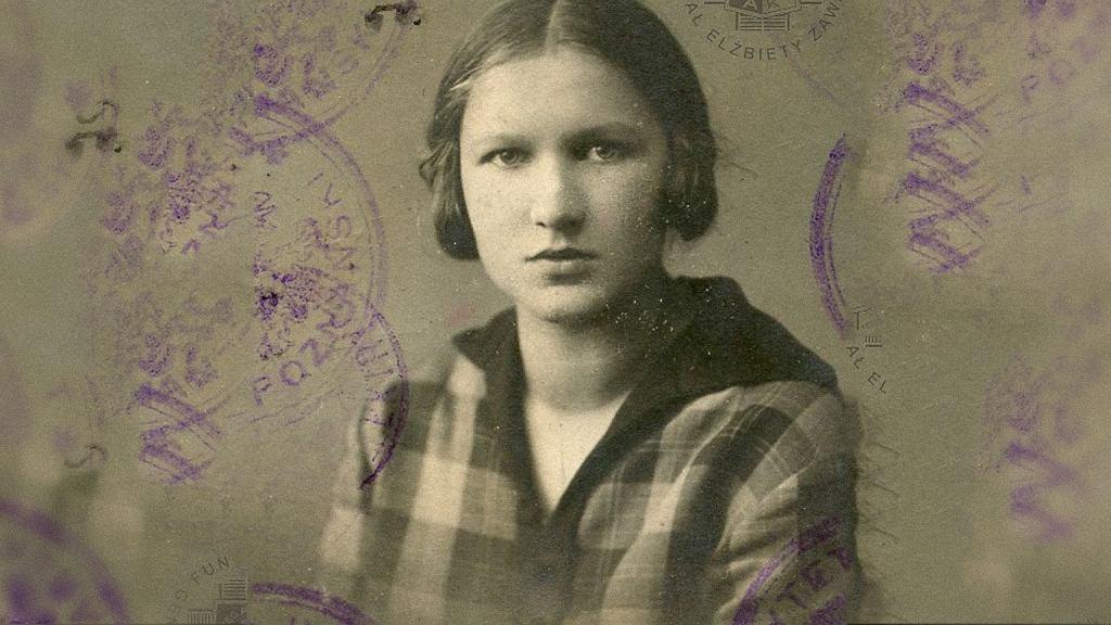 Elżbieta Zawacka w 1927 r.