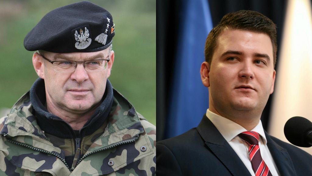 Generał Waldemar Skrzypczak / Bartłomiej Misiewicz