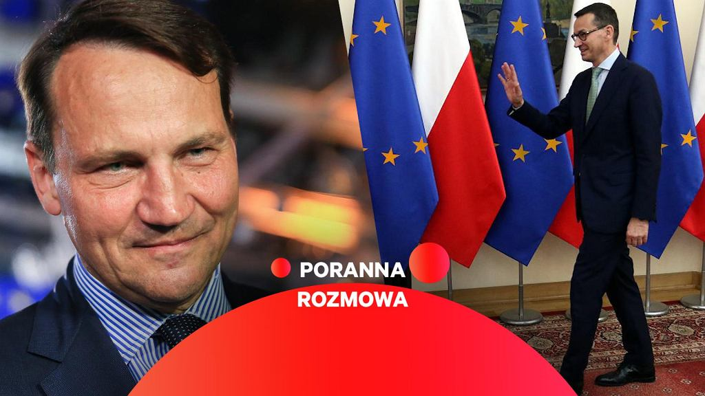 Radosław Sikorski w Porannej Rozmowie Gazeta.pl