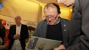 Spotkanie z Adamem Michnikiem w Białymstoku