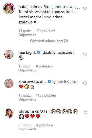 Maja Bohosiewicz komentarze