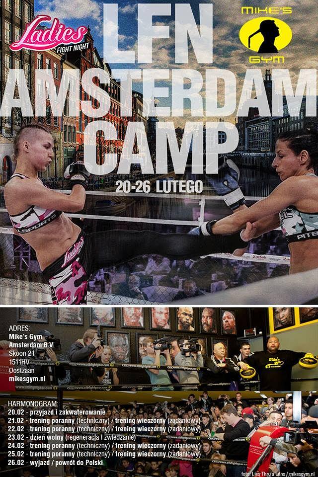 Obóz sparingowy LFN Team w Amsterdamie