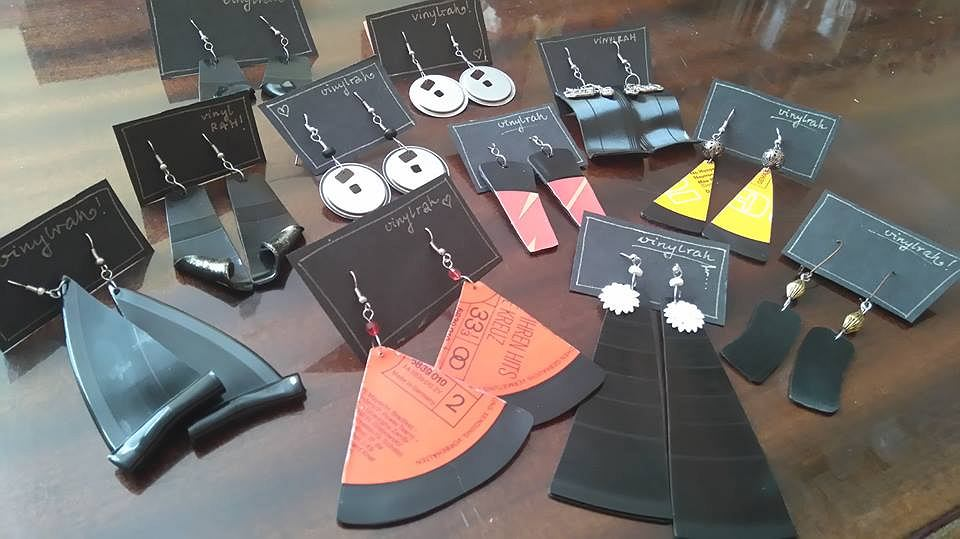 Biżuteria ze sklepu Vinyl Rah / Vinyl Rah/źródło: Facebook