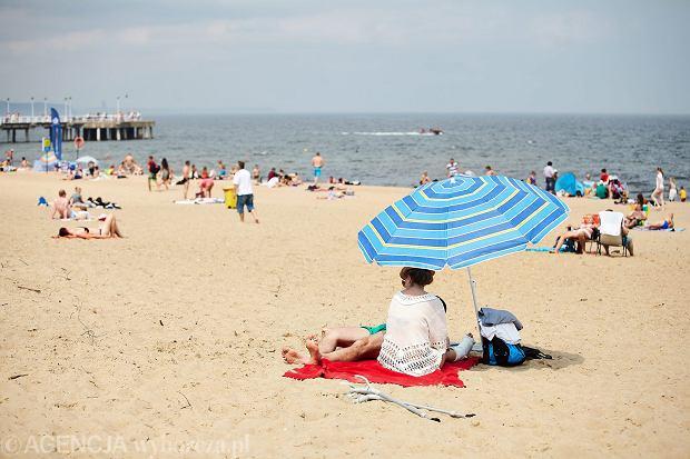 Plaża Gdańsk Brzeźno