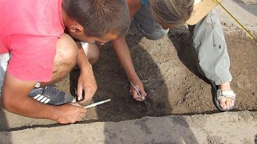 Podczas prac archeologicznych