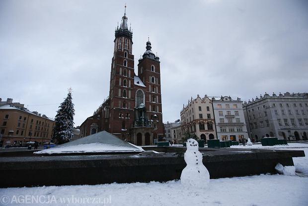 Zdjęcie numer 15 w galerii - Zima w Krakowie - śnieg przykrył ulice, domy, parki [GALERIA]