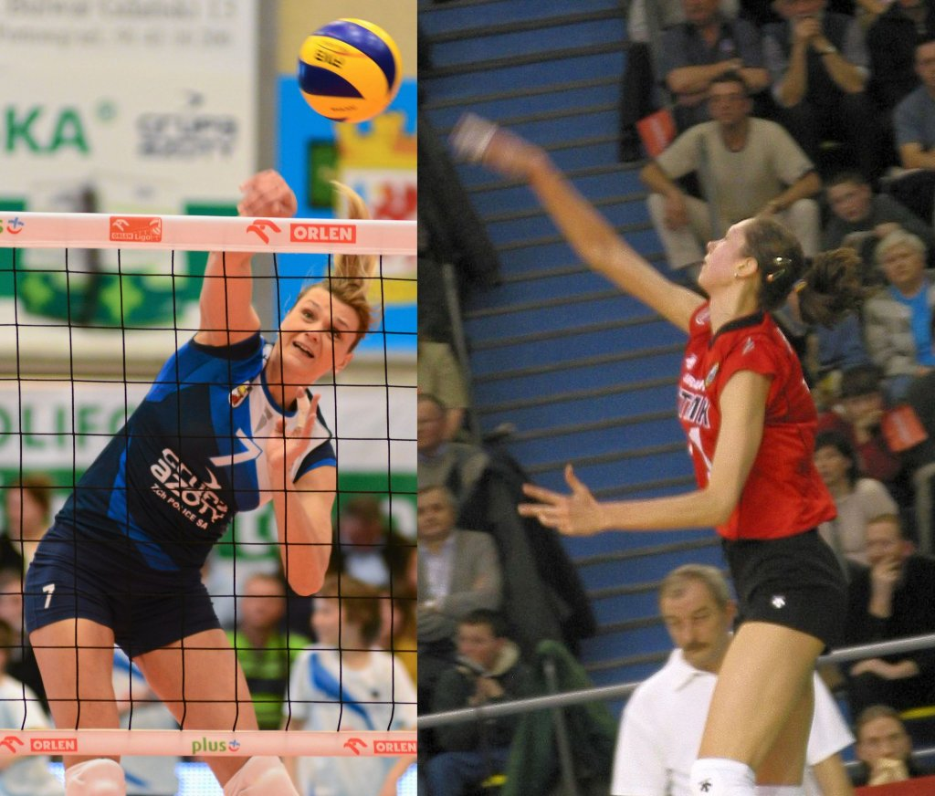 Małgorzata Glinka i Jekaterina Gamowa