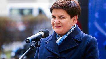 Była premier, obecna wicepremier Beata Szydło