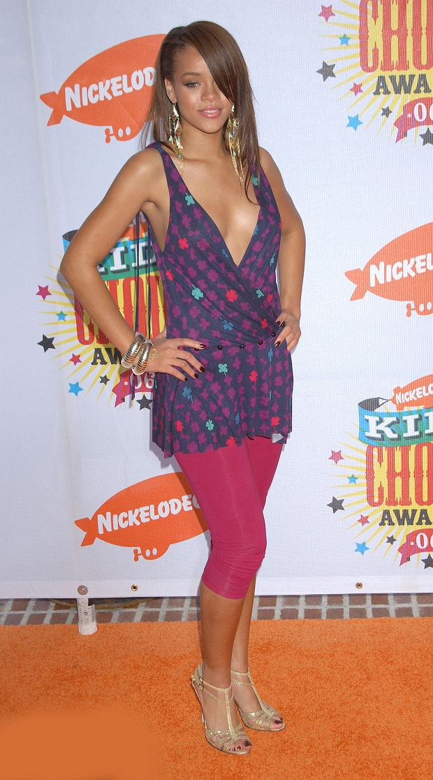 Rihanna   at the 19th Nickelodeon Kids Choice Awards held at the Pauley Pavilion,  Los Angeles. Photo by George Maleski