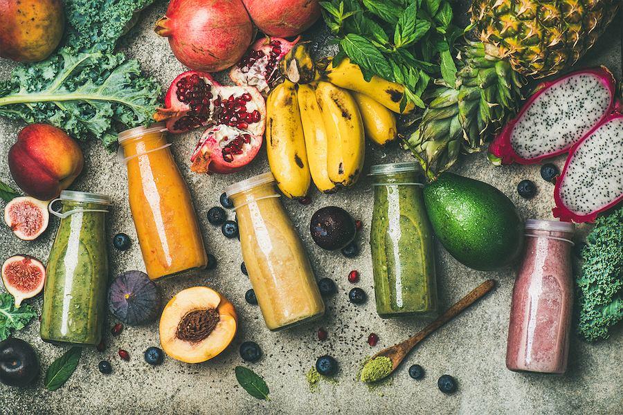 Świeże soki są Są źródłem witamin, składników mineralnych, polifenoli i pektyn