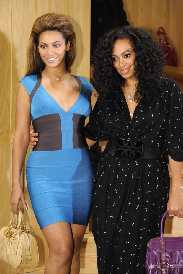 Beyonce i Solange Knowles