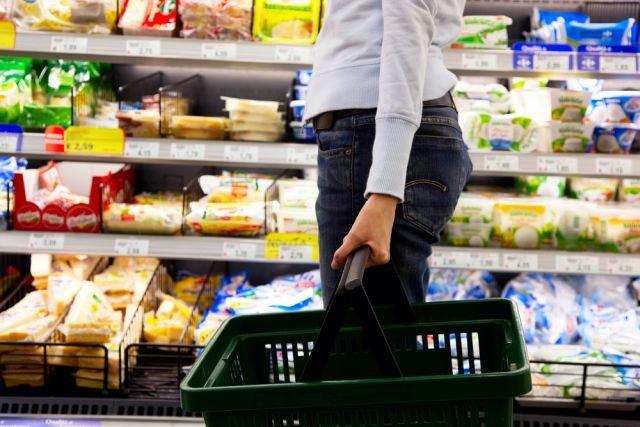 zakupy na diecie
