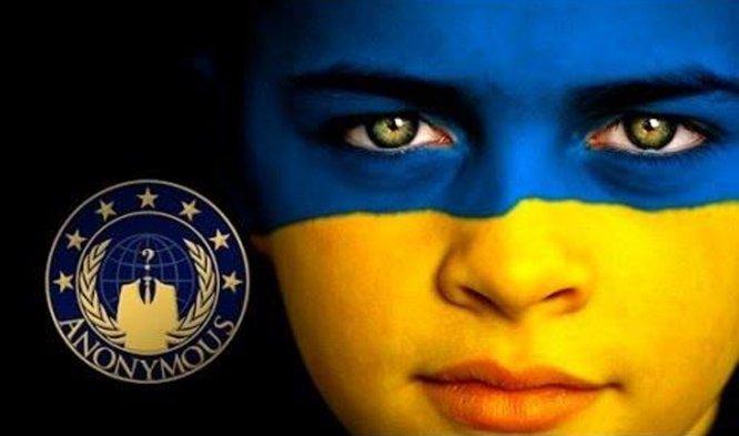 Anonymous bronią Ukrainy jednak mało skutecznie. Dlaczego?