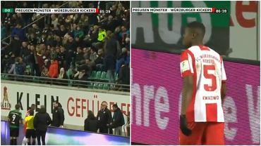 Skandal rasistowski na meczu w Niemczech i fantastyczna reakcja kibiców
