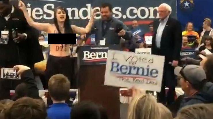 Wiec Sandersa w Nevadzie
