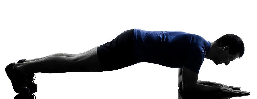 popularna pozycja plank