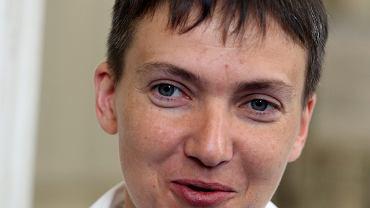 Nadia Sawczenko zwolniona z aresztu