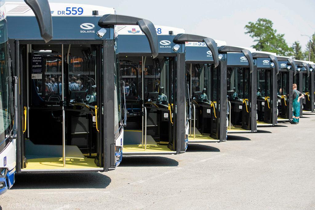 70 autobusów marki Solaris spełniające wymogi euro 6 w krakowskiej zajezdni MPK