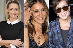 Gwiazdy zrobią wiele, aby jak najdłużej zachować młodzieńczy - i przeczący ich metryce - wygląd. Czyżby po zabiegach na twarz, piersi, brzuch, a nawet pupę, przyszła pora na odmładzanie... dłoni? Celebrytki często zapominają bowiem o najprostszym dowodzie, zdradzającym ich prawdziwy wiek: rękom właśnie! Prekursorką tych zabiegów może być Kris Jenner. Słynna momager Kim Kardashian niedawno zaskoczyła wszystkich, gdy sfotografowano jej dziwnie napuchnięte ręce, choć jeszcze kilka dni wcześniej prezentowały się one zgoła inaczej. Póki co, na niebezpieczny zabieg wypełniania dłoni zdecydowała się zaledwie garstka pań. Gładka jak pupa niemowlaka twarz i żylaste dłonie to, niestety, bardzo częsty widok, i to nie tylko w Hollywood. Zobaczcie, jak wyglądają dłonie znanych pań!