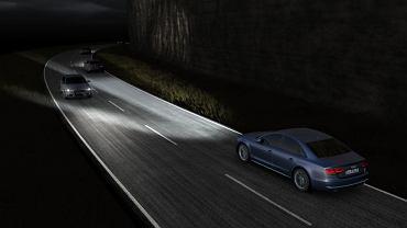 Reflektory LED Matrix dostępne w nowym Audi A8/S8